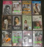 Muzica populara Gica Petrescu,Maria Tanase,Zorile,Velicu,Ceia,Sararoiu,20 bucata, Casete audio