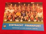 Foto echipa fotbal - EINTRACHT FRANKFURT (sezonul 1988/1989)