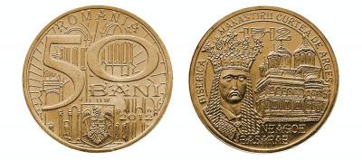 SV * Romania   50  BANI  2012  *  DOMNITORUL NEAGOE BASARAB     UNC   din  fasic foto