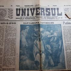 ziarul universul 5 aprilie 1934-uneltiri hitleriste inpotriva frantei