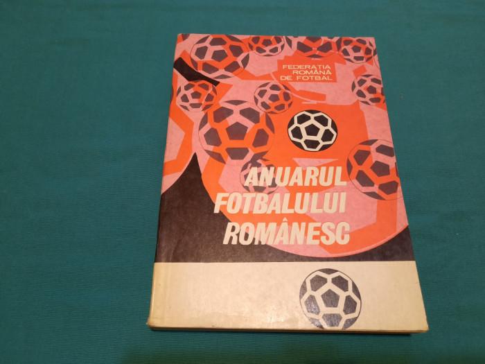 ANUARUL FOTBALULUI ROMÂNESC / 1967-1969