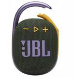 Boxa Portabila JBL Clip 4, Bluetooth 5.1, Waterproof IP67, 5W (Verde/Roz)