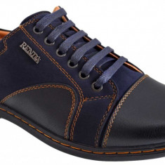 Pantofi Casual Barbatesti bleumarin Renda, 39 - 42