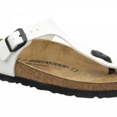 Papuci flip-flop Birkenstock Gizeh 543763 pentru Femei, 35 - 41, Alb