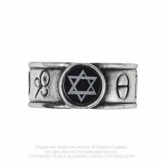 Inel simboluri alchemice, steaua lui David, Principia Alchemystica