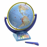 Glob pamantesc interactiv Geosafari, pix interactiv, ghid cu activitati, 45.5 cm inaltime
