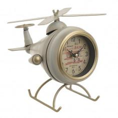 Ceas de masa metalic Helicopter