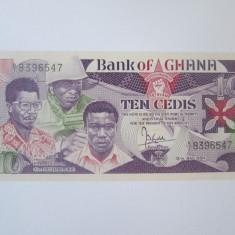 Cumpara ieftin Rara! Ghana 10 Cedis 1984 UNC