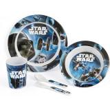 Cumpara ieftin Set pentru masa melamina 5 piese Star Wars Rogue One Lulabi 8330500