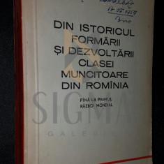 DIN ISTORICUL FORMARII SI DEZVOLTARII CLASEI MUNCITOARE DIN ROMANIA - N . N . CONSTANTINESCU