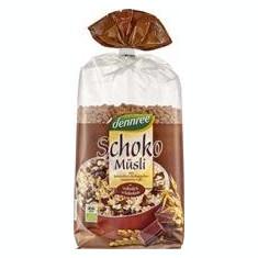 Musli cu Ciocolata Bio 750gr Dennree Cod: 438287
