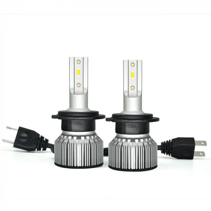Kit becuri led auto csp mini : D2S D2R-H1-H3-H7-H11-H8-H9-HB3-Hb4 HIR2