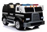 Masinuta electrica Camion de Politie, negru