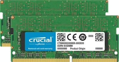 Memorie laptop Crucial 8GB (2x4GB) DDR4 2666MHz CL19 foto