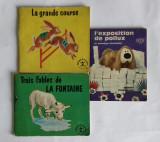 CARTI PENTRU COPII - HACHETTE 1965 IN LIMBA FRANCEZA
