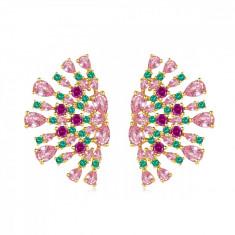 Cercei Luxury Evantai Multicolor