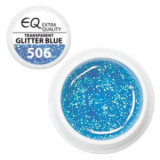 Gel UV Extra quality – 506 Transparent Glitter Blue, 5g