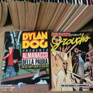 dylan dog benzi desenate fan horror sf comics hobby limba italiana lot colectie