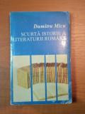 SCURTA ISTORIE A LITERATURII ROMANE-PERIOADA INTERBELICA,POEZIA CONTEMPORANA,VOL2, DUMITRU MICU, 1995