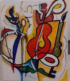 PF vind tablou pictura pe pinza in acril