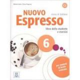 Nuovo Espresso 6 (libro + CD audio)/ Expres nou 6 (carte + CD audio). Curs de italiana C2. Carte si exercitii pentru elevi - Chiara Pegoraro, Michela