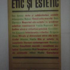 Etic si estetic  , studii de extetica si istoria artei
