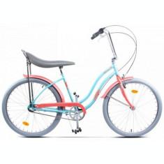 Bicicleta Pegas Strada 2 OTEL 3S 2017, Cadru 17inch, Roti 26inch, 3 Viteze (Albastru)