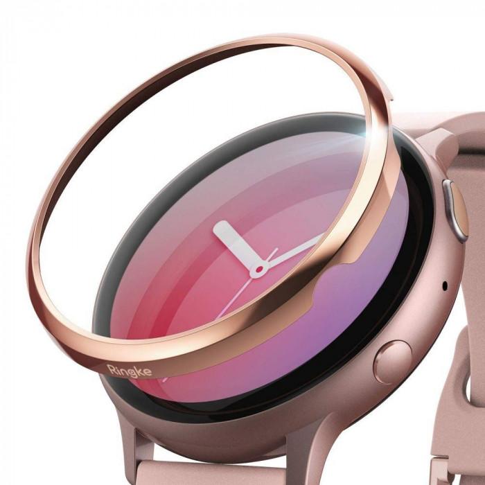 Rama ornamentala inox Ringke Samsung Galaxy Watch Active 2 (40mm) Rose Gold