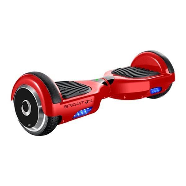 """Trotinetă Electrică Hoverboard BRIGMTON BBOARD-64BT-R 6,5"""" 4400 mAh Bluetooth 700 W Roșu"""