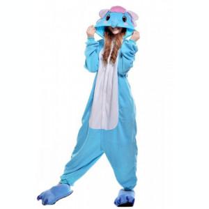 PJM28-4 Pijama intreaga kigurumi, model elefant