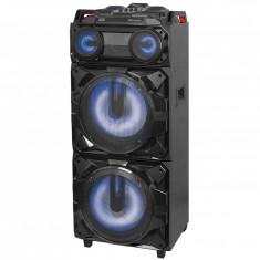 Boxa portabila cu Bluetooth functie Karaoke 300W Trevi