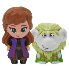 Set 2 Mini Figurine Anna si Bulda Whisper and Glow Frozen 2
