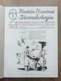 REVISTA ROMANA DE STOMATOLOGIE, 1939, COLECTIE COMPLECTA, 6 NUMERE