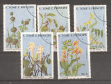 Sao Tome 1988 Medical flowers used DE.076