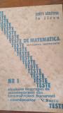 Teste de matematica rezolvate nr.1 pt.admitera in liceu  V.Baciu