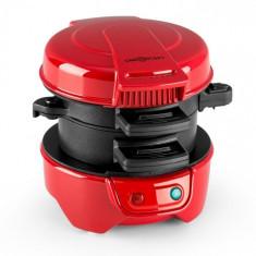 OneConcept Morning Glory, roșu, 600W, Toast și carne pentru burgeri, nelipicios