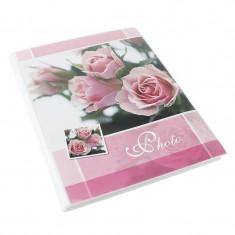 Album poze Pink Roses 36 fotografii, 15x21 cm, buzunare slip in, roz