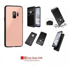 Husa Silicon GLASS Samsung G960 Galaxy S9 Roz