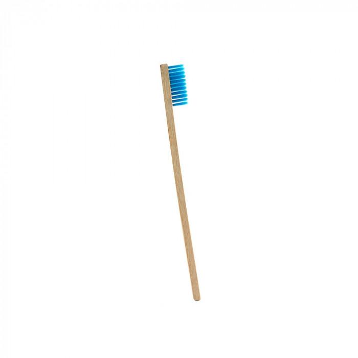 Periuta de dinti clasica, maner drept, culoare albastru, model PS01