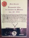Documentele latine de cancelarie din Moldova- Mihaela Paraschiv