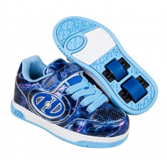 Heelys Plus X2 Lighted Purple/Blue/Lightning
