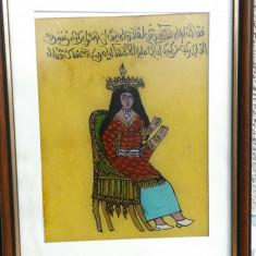 Pictura pe sticla din Tunisia