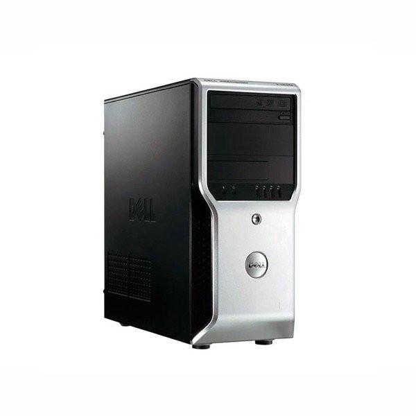 Workstation DELL Precision T1600 Tower, Intel Core i3 Gen 2 2120 3.3 GHz, 4 GB DDR3, 250 GB HDD SATA, DVDRW, Windows 10 Pro, 3 Ani Garantie