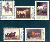 Russia USSR 1988 Horse paintings, MNH S.300, Nestampilat