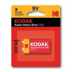 Baterie Kodak Super Heavy Duty, 9V, Zinc