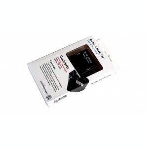 convertor semnal digital COAX  sau optic TOSLINK la audio analog RCA
