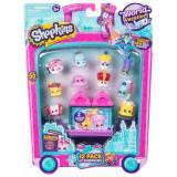 Set 12 figurine Shopkins colectia Europa Pink, 5 ani+