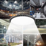 Lampa industriala LED SMD 150W, 195000 lm, 5000K, protectie IP65, carlig suspendare