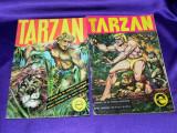 Tarzan 1 si 2  - benzi desenate - Nicu Russu colectia Stadion