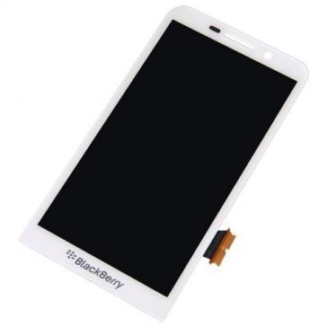 Display cu touchscreen BlackBerry Z30 Original Alb foto